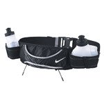 pas do biegania NIKE LIGHTWEIGHT HYDRATION BELT 2 BOTTLE / NRB04010OS