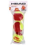 piłki tenisowe HEAD 3B TIP RED x3 / 578113