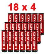 piłki tenisowe HEAD CHAMPIONSHIP, karton 18 x 4 / TPH-041