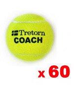 piłki tenisowe TRETORN COACH  60szt. worek