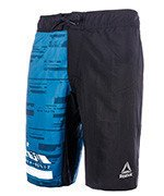 spodenki do biegania męskie REEBOK WORKOUT READY GRAPHIC BOARD SHORT / BK2933