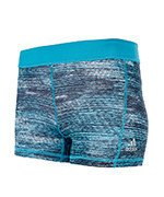 spodenki sportowe damskie ADIDAS TECHFIT 3IN HEATHER PRINT SHORT / BK2920