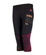 spodnie do biegania damskie 3/4 REEBOK SPARTAN CAPRI / S99818