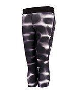 spodnie do biegania damskie ADIDAS RESPONSE 3/4 TIGHTS / BK0435