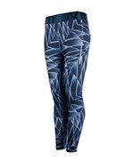 spodnie do biegania damskie NEWLINE IMOTION PRINTED 7/8 TIGHTS / 70186-386