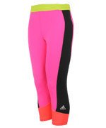 spodnie sportowe damskie 3/4 ADIDAS TECHFIT CAPRI / AJ2266