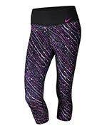 spodnie sportowe damskie 3/4 NIKE POWER TRAINING POLY CAPRI / 833750-011