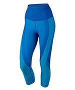 spodnie sportowe damskie 3/4 NIKE ZONED SCULPT CAPRI / 810967-455