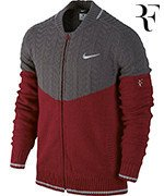 sweter tenisowy męski NIKE PREMIER RF SWEATER Roger Federer Shanghai 2014 / 621200-677