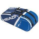 torba tenisowa HEAD CORE 6R COMBI / 283345 BLBL