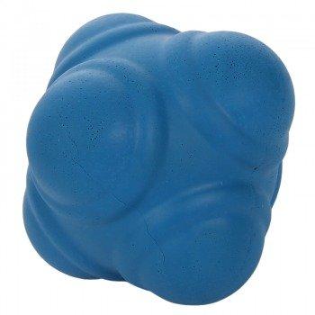 """PRO""""S piłka do treningu reakcji - miękka - niebieska 7 cm"""