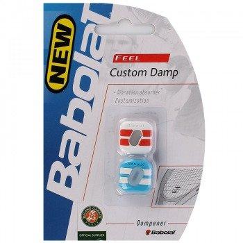 Wibrastop  BABOLAT CUSTOM DAMP RED/BLUE (2 sztuki)
