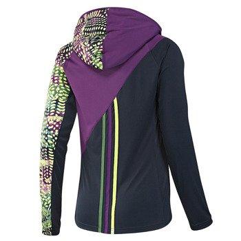 bluza do biegania damska ADIDAS AKTIV HOOD LONGSLEEVE TEE / D80059
