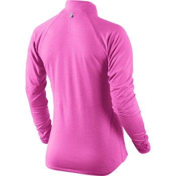 bluza do biegania damska NIKE ELEMENT HALF ZIP / 481320-667