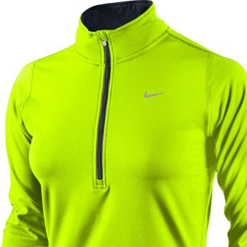 bluza do biegania damska NIKE ELEMENT HALF ZIP / 481320-704