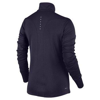 bluza do biegania damska NIKE RACER LONG SLEEVE 1/2 ZIP TOP / 648358-524