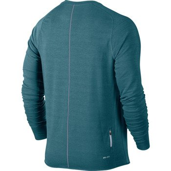 bluza do biegania męska NIKE DRI-FIT FEATHER FLEECE CREW / 598973-320