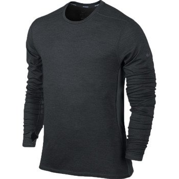 bluza do biegania męska NIKE DRI-FIT WOOL CREW / 553678-017