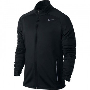 bluza do biegania męska NIKE ELEMENT THERMAL FULL ZIP / 548659-010