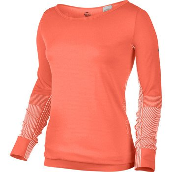 bluza sportowa damska NIKE EPIC DRI-FIT KNIT LONGSLEEVE CREW / 589296-870