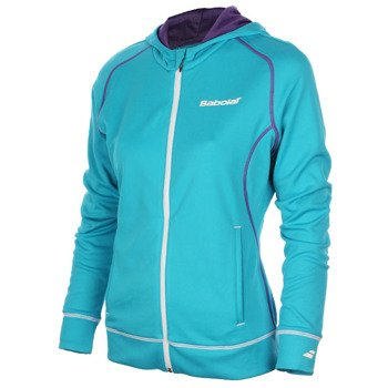 bluza tenisowa damska BABOLAT SWEAT MATCH PERFORMANCE / 41S1407-111