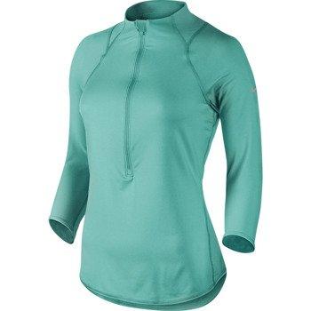bluza tenisowa damska NIKE BASELINE 1/2 ZIP TOP / 546075-405