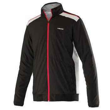bluza tenisowa męska HEAD CLUB JACKET / 811615 BK