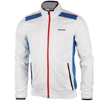 bluza tenisowa męska HEAD CLUB JACKET / 811615 WH