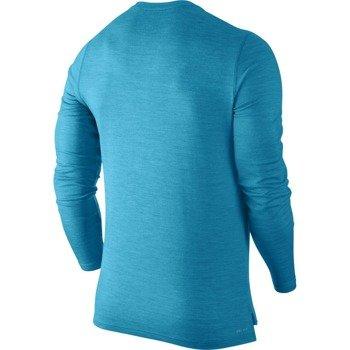 bluza tenisowa męska NIKE LONGSLEEVE WOOL HENLEY / 631641-407