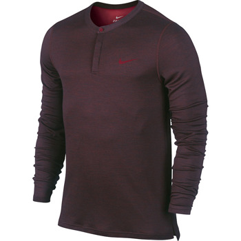 bluza tenisowa męska NIKE WOOL HENLEY / 631641-635