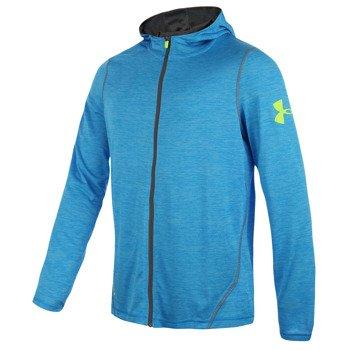 bluza tenisowa męska UNDER ARMOUR LONG SLEEVE TECH FULL ZIP HOODY / 1253538-405