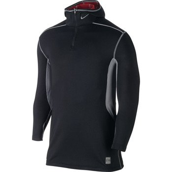 bluza termoaktywna męska NIKE PRO COMBAT HYPERWARM FITTED DRI-FIT MAX ATHLETE HOODED / 624878-011