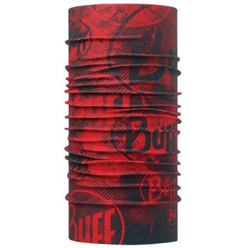 chusta do biegania BUFF HIGH UV PROTECTION BUFF CRASH FIERY RED / 111433.409