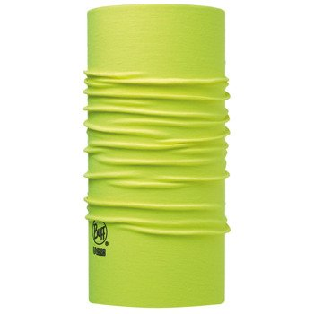 chusta do biegania BUFF HIGH UV PROTECTION BUFF SOLID YELLOW FLUOR / 111426.117