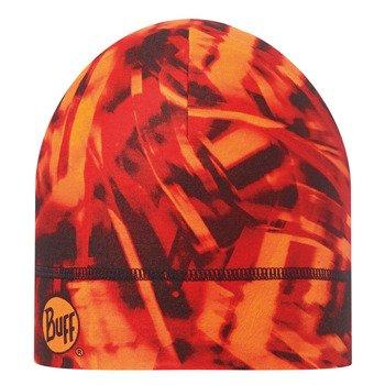 czapka do biegania BUFF COOLMAX 1 LAYER HAT BUFF NITRIC ORANGE / 111500.211
