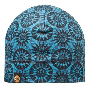 czapka do biegania BUFF POLAR HAT BUFF WHEELS TURQUOISE / 111403.789.10