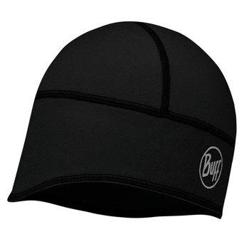 czapka do biegania BUFF TECH FLEECE HAT BUFF SOLID BLACK / 113384.999.10