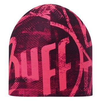czapka dwustronna do biegania BUFF COOLMAX REVERSIBLE HAT BUFF BITA PINK FLUOR / 111505.522