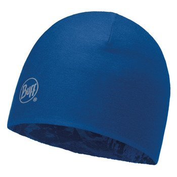 czapka dwustronna do biegania BUFF MICROFIBER REVERSIBLE HAT BUFF MOUNTAIN BITS / 113170.707.10