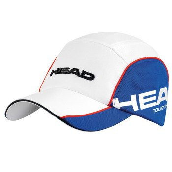 czapka tenisowa HEAD TOUR TEAM FUNCTION CAP / 287004 WH/BL