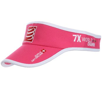 daszek biegowy COMPRESSPORT VISIOR CAP pink / RACS-0022
