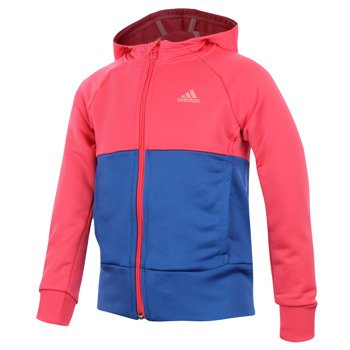 dres tenisowy dziewczęcy ADIDAS SEPARATES HOODED POLYESTER TRACK SUIT / AB3113