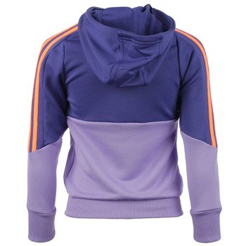 dres tenisowy dziewczęcy ADIDAS SEPARATES HOODED POLYESTER TRACK SUIT / S21661