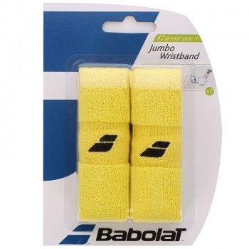 frotka tenisowa BABOLAT JUMBO WRISTBAND Yellow