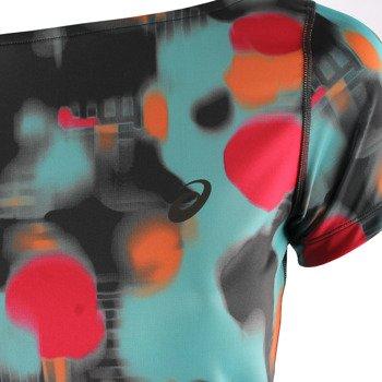 koszulka do biegania damska ASICS FUZEX PRINTED SHORT SLEEVE TOP / 129974-2075