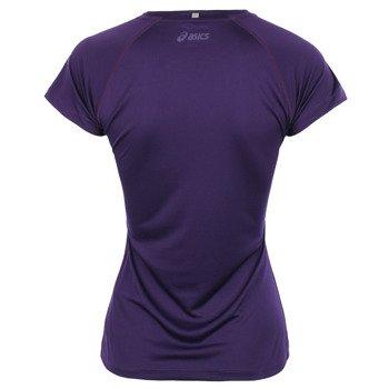 koszulka do biegania damska ASICS STRIPE SHORTSLEEVE TOP / 121331-0245