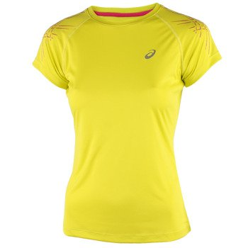 koszulka do biegania damska ASICS STRIPE SHORTSLEEVE TOP / 121331-0497