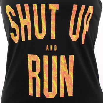 koszulka do biegania damska NIKE CORE VERBIAGE TANK / 836074-010