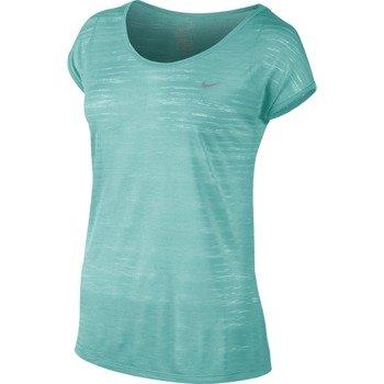 koszulka do biegania damska NIKE DRI FIT COOL BREEZE SHORTSLEEVE TOP / 644710-466