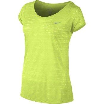 koszulka do biegania damska NIKE DRI FIT COOL BREEZE SHORTSLEEVE TOP / 644710-702